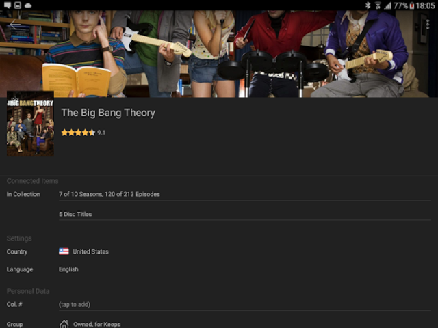 My Movies Pro - Movie & TV Collection Library screenshot 12