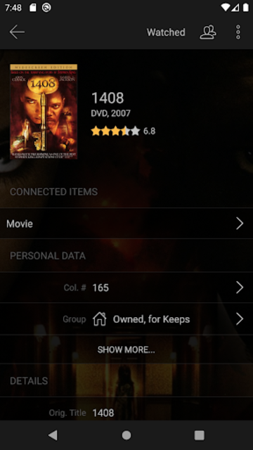 My Movies 3 Pro - Movie & TV Collection Library screenshot 3