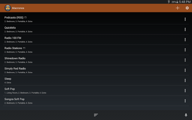 Macronos for Sonos screenshot 8
