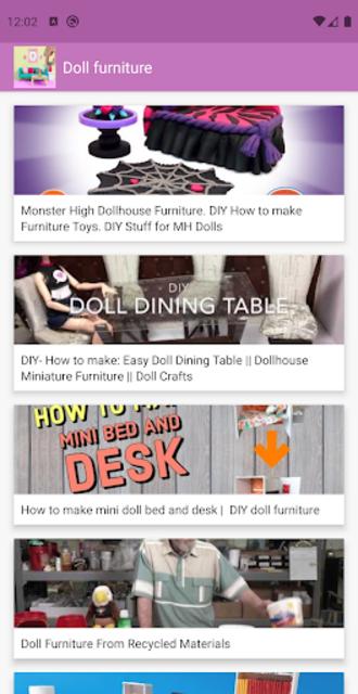 How to make doll furniture 💖 screenshot 1