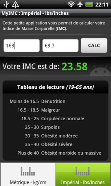 BMI Calculator screenshot 4