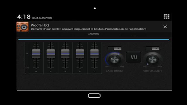 Woofer Equalizer Pro screenshot 4
