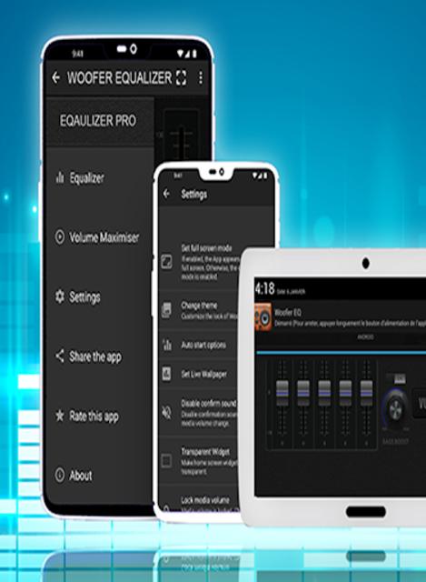 Woofer Equalizer Pro screenshot 1