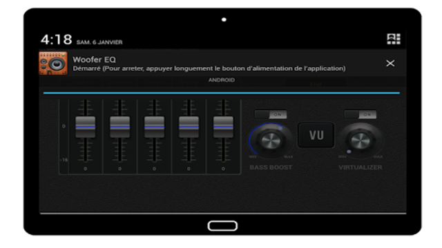 Woofer Equalizer Pro screenshot 2