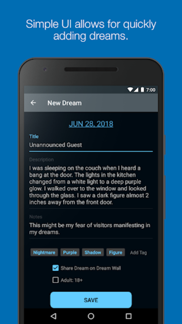 Dream Journal Ultimate - Track and Analyze Dreams screenshot 2