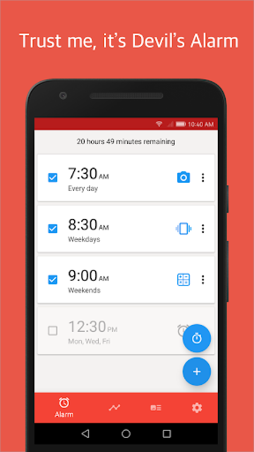 Alarmy (Sleep If U Can) - Pro screenshot 1