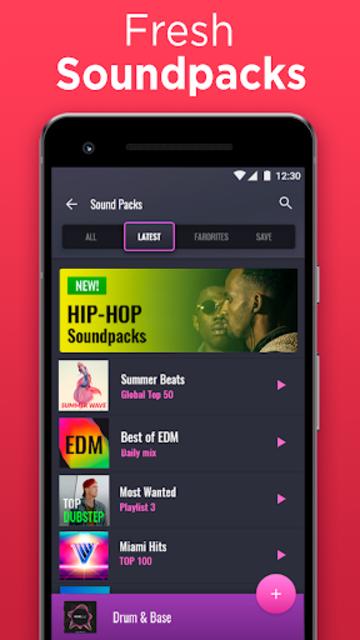 Drum Pad - music & beat maker screenshot 2