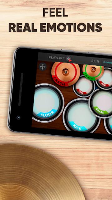 Drum kit – Play Drums Simulator screenshot 1