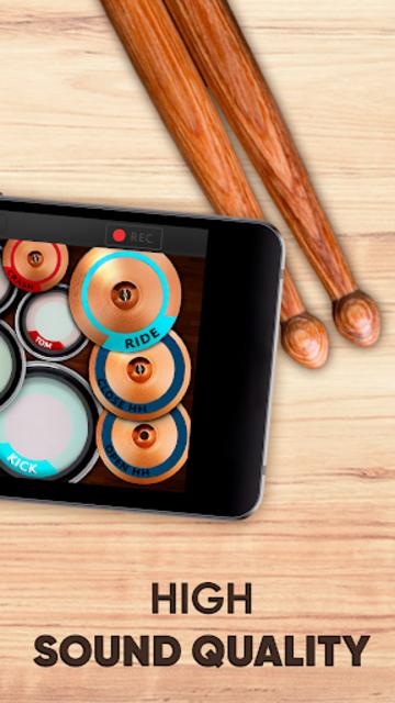Drum kit – Play Drums Simulator screenshot 6