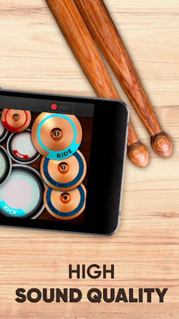 Drum kit – Play Drums Simulator screenshot 10
