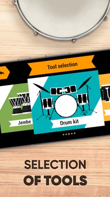 Drum kit – Play Drums Simulator screenshot 12