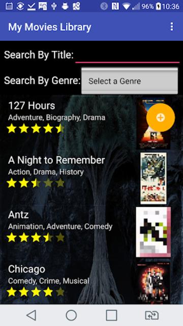 My Movies Library screenshot 1