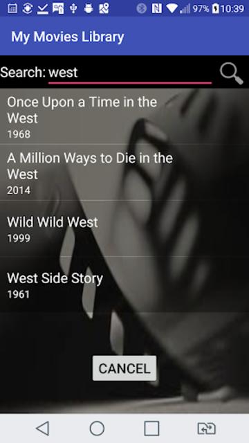 My Movies Library screenshot 3