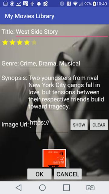 My Movies Library screenshot 4