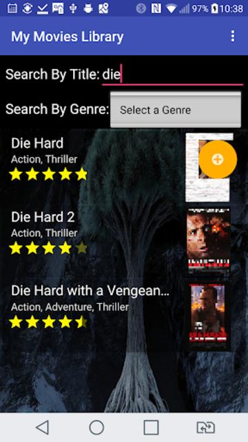 My Movies Library screenshot 6