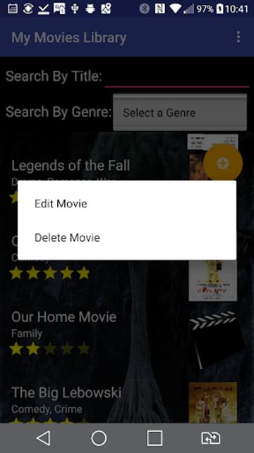 My Movies Library screenshot 7