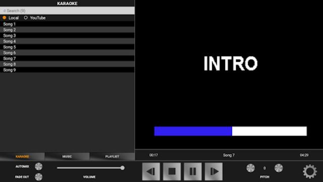 Karaoke DXI screenshot 2
