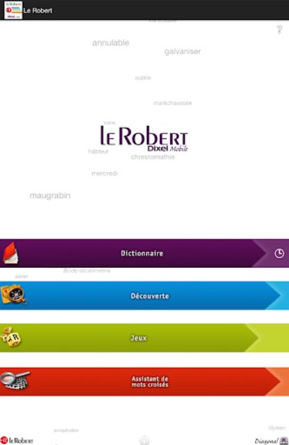 Dictionnaire Le Robert Mobile screenshot 9