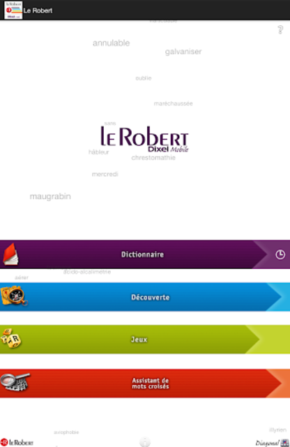 Dictionnaire Le Robert Mobile screenshot 17