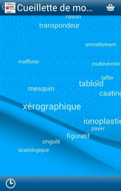 Dictionnaire Le Robert Mobile screenshot 6