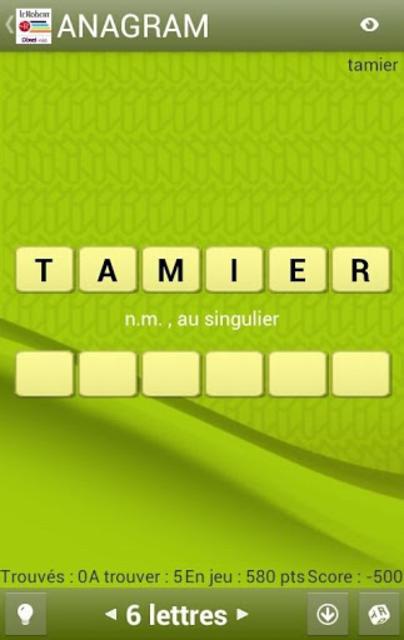 Dictionnaire Le Robert Mobile screenshot 7