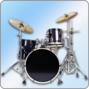 Icon for Easy Real Drums-Real Rock and jazz Drum music game
