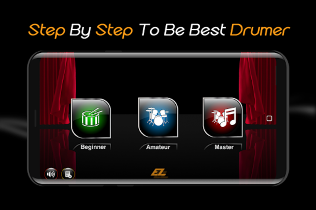 Easy Real Drums-Real Rock and jazz Drum music game screenshot 1