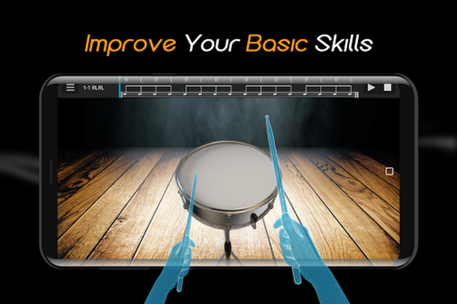 Easy Real Drums-Real Rock and jazz Drum music game screenshot 2