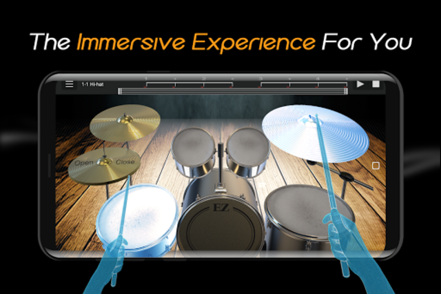 Easy Real Drums-Real Rock and jazz Drum music game screenshot 3
