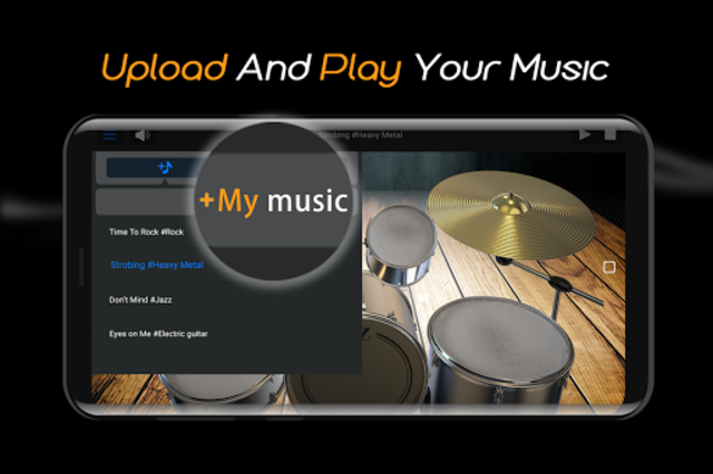 Easy Real Drums-Real Rock and jazz Drum music game screenshot 4