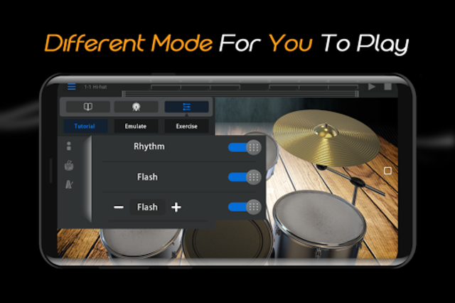 Easy Real Drums-Real Rock and jazz Drum music game screenshot 5