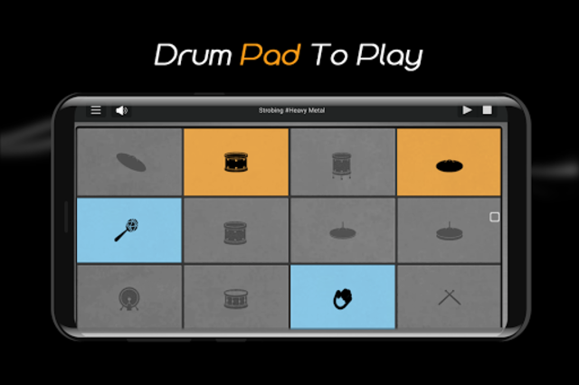 Easy Real Drums-Real Rock and jazz Drum music game screenshot 6