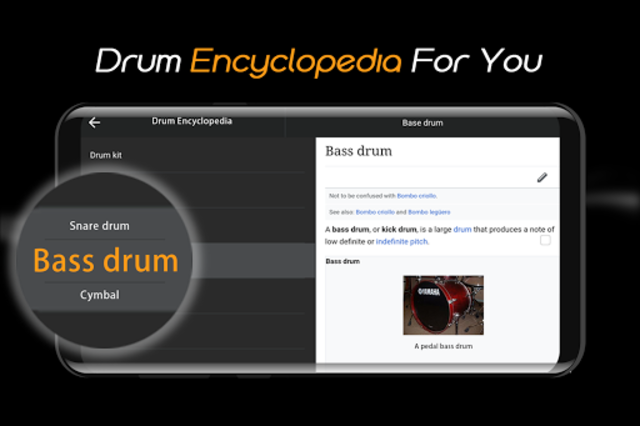 Easy Real Drums-Real Rock and jazz Drum music game screenshot 7