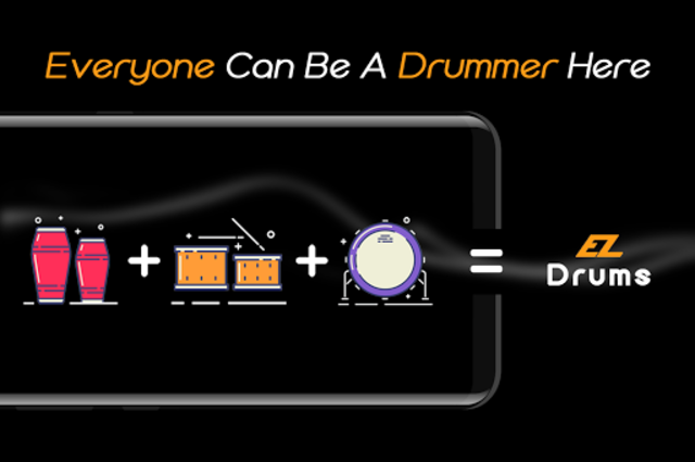 Easy Real Drums-Real Rock and jazz Drum music game screenshot 8