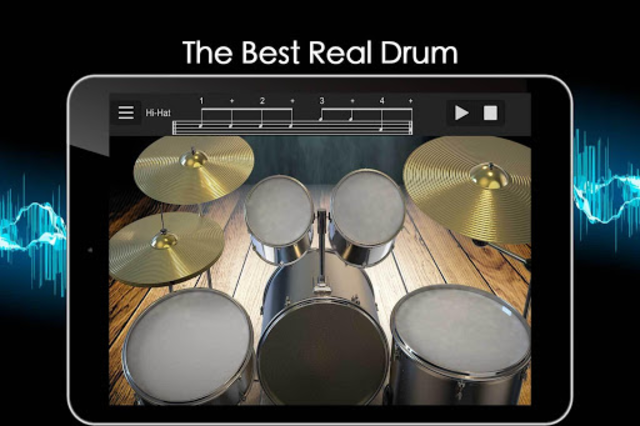 Easy Real Drums-Real Rock and jazz Drum music game screenshot 9