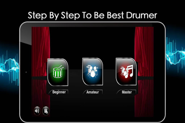 Easy Real Drums-Real Rock and jazz Drum music game screenshot 10