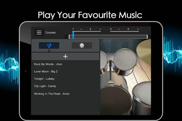 Easy Real Drums-Real Rock and jazz Drum music game screenshot 13