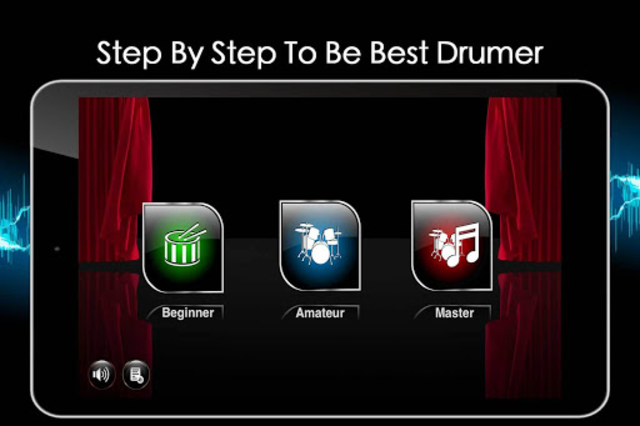 Easy Real Drums-Real Rock and jazz Drum music game screenshot 18