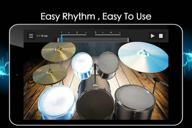 Easy Real Drums-Real Rock and jazz Drum music game screenshot 20