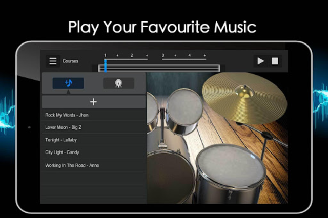 Easy Real Drums-Real Rock and jazz Drum music game screenshot 21