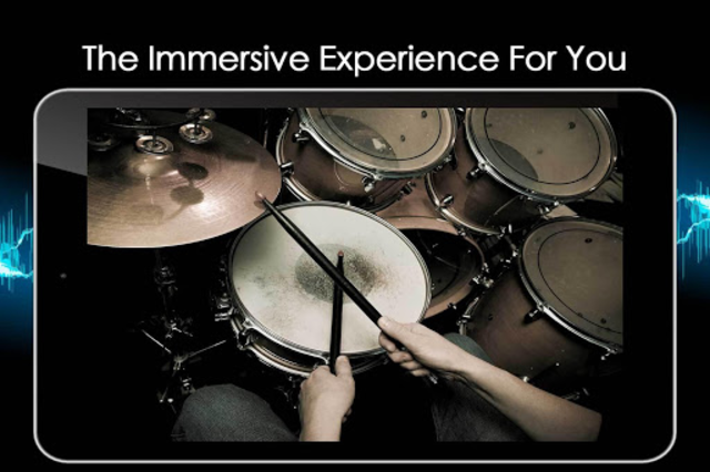 Easy Real Drums-Real Rock and jazz Drum music game screenshot 24