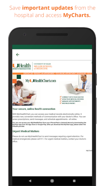 UHealth Mobile screenshot 5