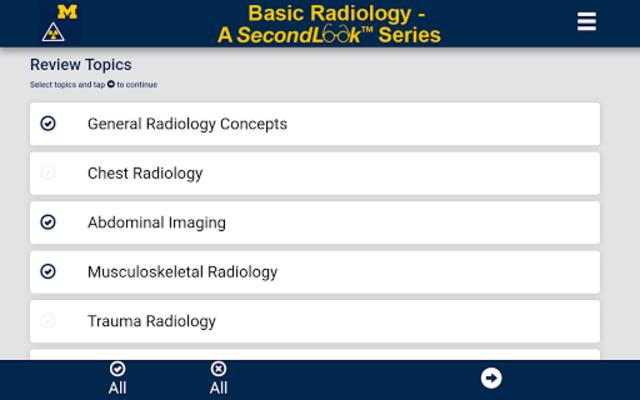 Basic Radiology - SecondLook screenshot 1