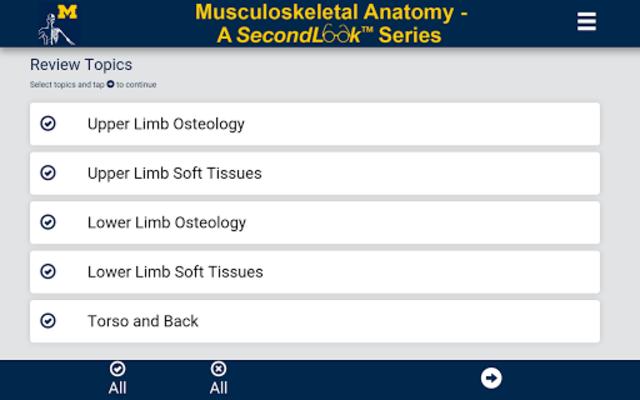 MSK Anatomy - SecondLook screenshot 1