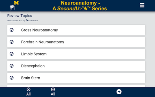 Neuroanatomy - SecondLook screenshot 1