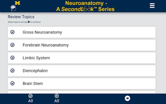 Neuroanatomy - SecondLook screenshot 6
