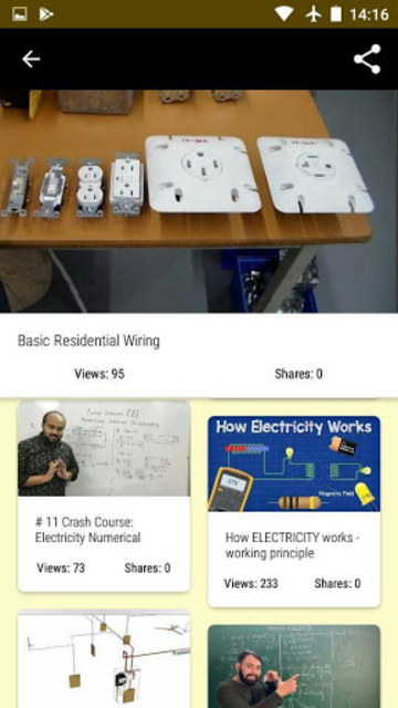 Electricity course - Electrician training screenshot 3