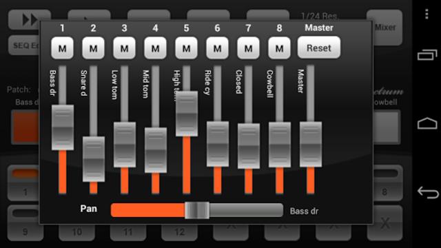 Electrum Drum Machine/Sampler screenshot 2