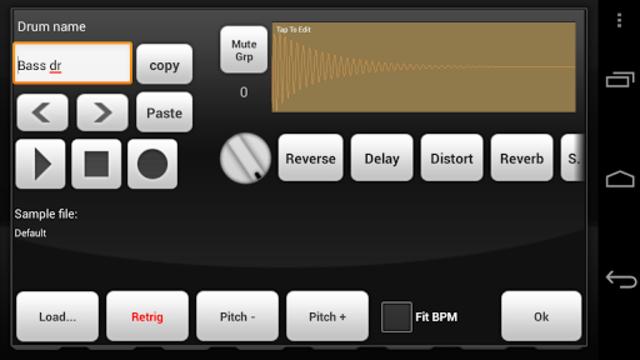 Electrum Drum Machine/Sampler screenshot 3