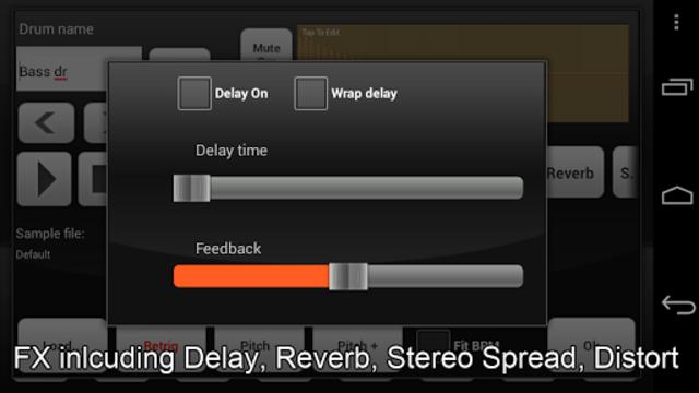Electrum Drum Machine/Sampler screenshot 4